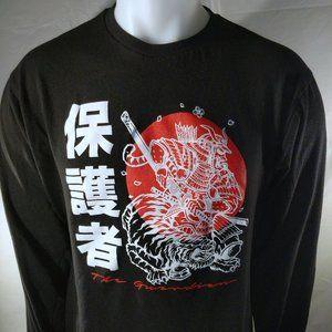 Large Long sleeve The Guardian T shirt